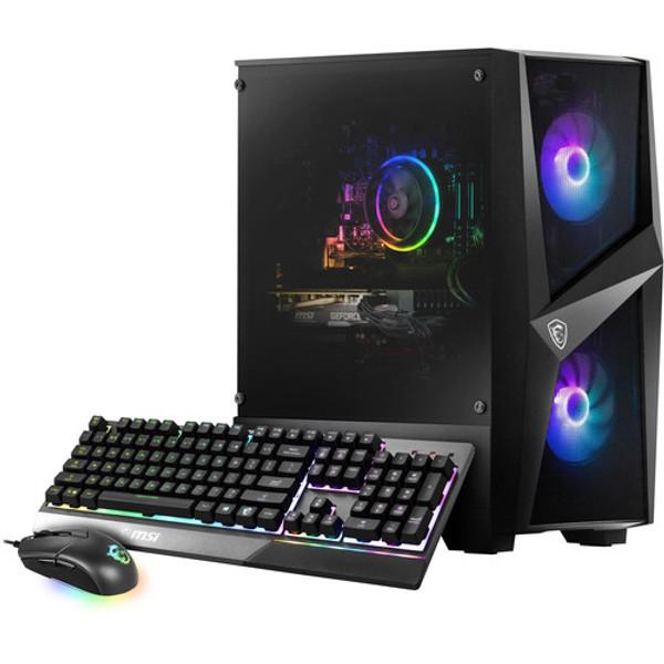 MSI Codex R 10SI-003US Gaming Desktop (2.90 GHz Intel Core i5-10400F (10th Gen), 8 GB DDR4 SDRAM, GTX 1660 Super, 512 GB SSD, Windows 10 Home)