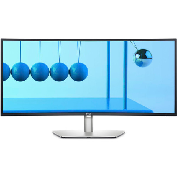 """Dell UltraSharp U3421WE 34.1"""" Curved Screen LCD Monitor - UltraSharp U3421WE, Enhance your comfort and productivity with the Dell UltraSharp U3421WE 34.1"""" 21:9 Curved WQHD IPS Monitor, which features a curved design and wide viewing angles to fill your field of view. This 3440 x 1440 WQHD resolution monitor delivers bright,"""