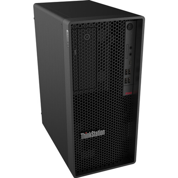 Lenovo ThinkStation P340 30DH00J4US Workstation Desktop (2.90 GHz Intel i7-10700 Octa-core (8 Core), 16 GB DDR4 SDRAM, 1 TB SSD, Windows 10 Pro) ThinkStation P340 Tower Workstation from Lenovo, which delivers an uncompromised computing experience.