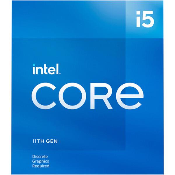 Intel Core i5-11400F 6-Core Rocket Lake Processor 2.60GHz 8GT/s 12MB LGA 1200 CPU Retail
