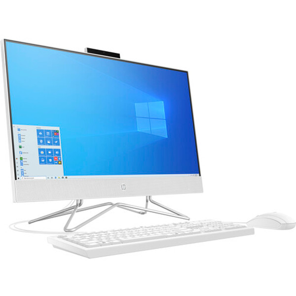 """HP 24-df1270 All-in-One 23.8"""" Desktop (2.40 GHz Intel Core i5-1135G7 (11th Gen) Quad-core (4 Core), 8 GB DDR4 SDRAM, 512 GB SSD, Windows 10 Home) 11th Gen Intel® Core™ processors . Get things done fast with high performance, instant responsiveness and best-inclass connectivity."""