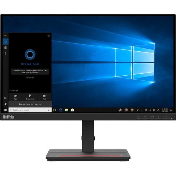 "Lenovo ThinkVision S24e-20 23.8"" Full HD WLED LCD Monitor - 16:9 - Raven Black, 1920 x 1080 Full HD (1080p), VA, 250 cd/m², 3000:1"
