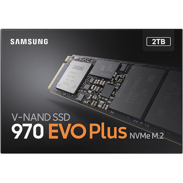 Samsung 970 EVO Plus 2 TB Solid State Drive - M.2 2280 Internal - PCI Express (PCI Express 3.0 x4)