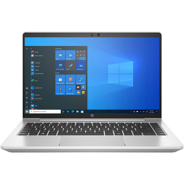 """HP ProBook 640 G8 14"""" Laptop (2.60 GHz Intel Core i5-1145G7 (11th Gen), 16 GB DDR4 SDRAM, 256 GB SSD, Windows 10 Pro) - HP ProBook 640 brings style to the enterprise and delivers the performance, durability, security, and manageability required for today's workforce."""