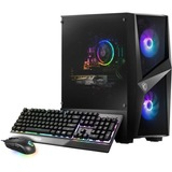 MSI Codex R 11TG-031US Gaming Desktop (2.60 GHz Intel Core i5-11400F (11th Gen) Hexa-core (6 Core), 16 GB DDR4 SDRAM, 1 TB HDD, 512 GB M.2 NVMe SSD, Windows 10 Home)