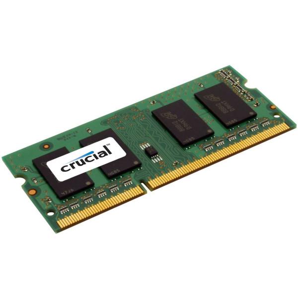Crucial 4GB, 204-pin SODIMM, DDR3 PC3-12800 Laptop Memory Module (CT51264BF160B)