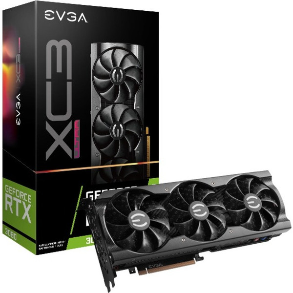 EVGA NVIDIA GeForce RTX 3080 10 GB GDDR6 Graphic Card (LHR)