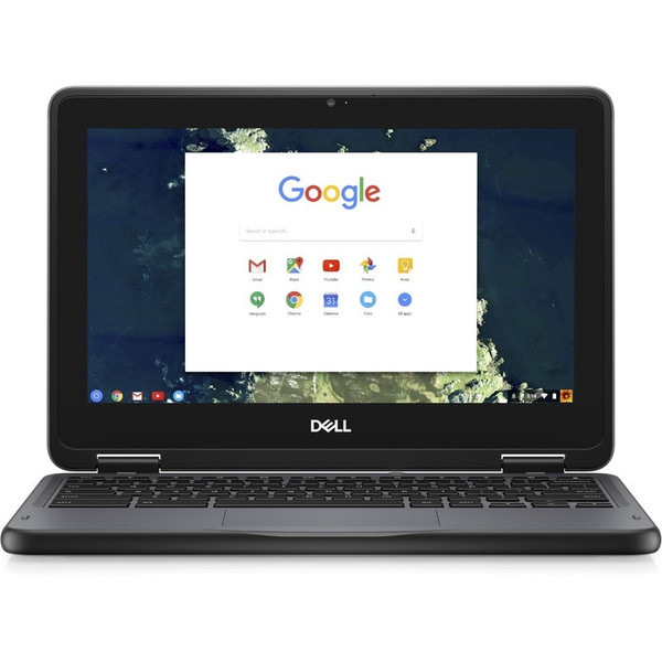 "Dell Chromebook 11 3000 3100 11.6"" Rugged Chromebook  (Intel Celeron N4020 Dual-core (2 Core), 4 GB DDR4 SDRAM, 32 GB Flash Memory, Google Chrome)"