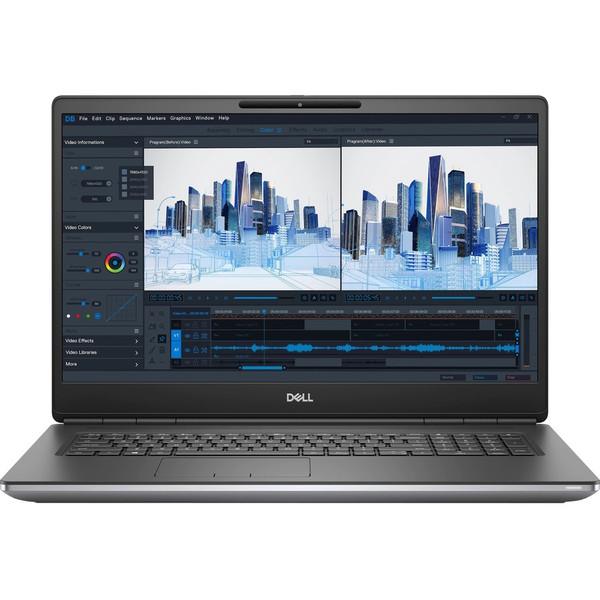 """Dell Precision 7000 7760 17.3"""" Mobile Workstation Laptop (2.90 GHz Intel Core i5-11500H 11th Gen Hexa-core (6 Core), 8 GB DDR4 SDRAM, 256 GB SSD, Windows 10 Pro)"""