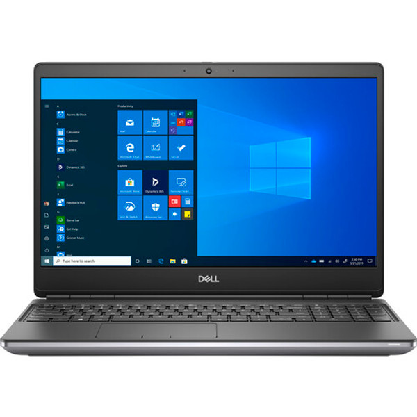 """Dell Precision 7000 7550 15.6"""" Mobile Workstation Laptop (2.60 GHz Intel Core i7-10750H 10th Gen Hexa-core (6 Core), 16 GB DDR4 SDRAM, 256 GB SSD, Windows 10 Pro)"""