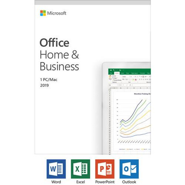 Microsoft Office 2019 Home & Business - Box Pack - Medialess