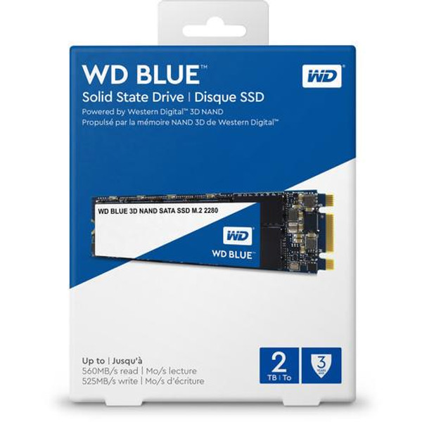 WD Blue 3D NAND 1TB PC SSD - SATA III 6 Gb/s M.2 2280 Solid State Drive
