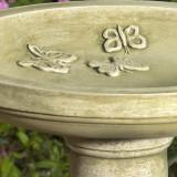 Butterflies Bird Bath detail