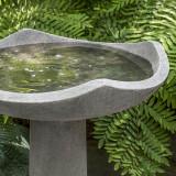 Large Oslo Bird Bath detail