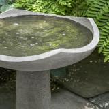 Medium Oslo Bird Bath detail