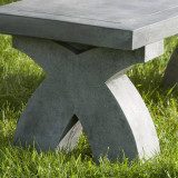 The X Bench detail