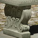 Classic Garden Bench detail