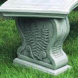 Curved Woodland garden bench