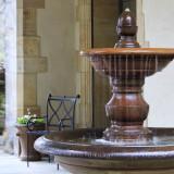 San Pietro Fountain detail