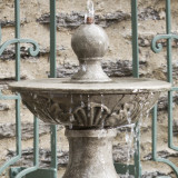 Acanthus Two-Tier Fountain detail