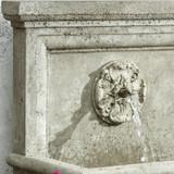 St Aubin fountain detailed