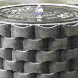 M Weave Disc Fountain detail