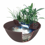 Aquagarden Mini Pond Kit - cutaway