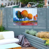 Bohemian Forest Outdoor Wall Art