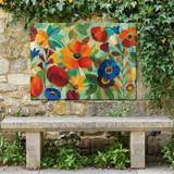 Jamboree Garden Outdoor Wall Art
