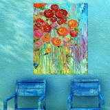 Poppies #6 Outdoor Wall Art