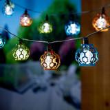 20 Gala LED Solar String Lights - Warm White