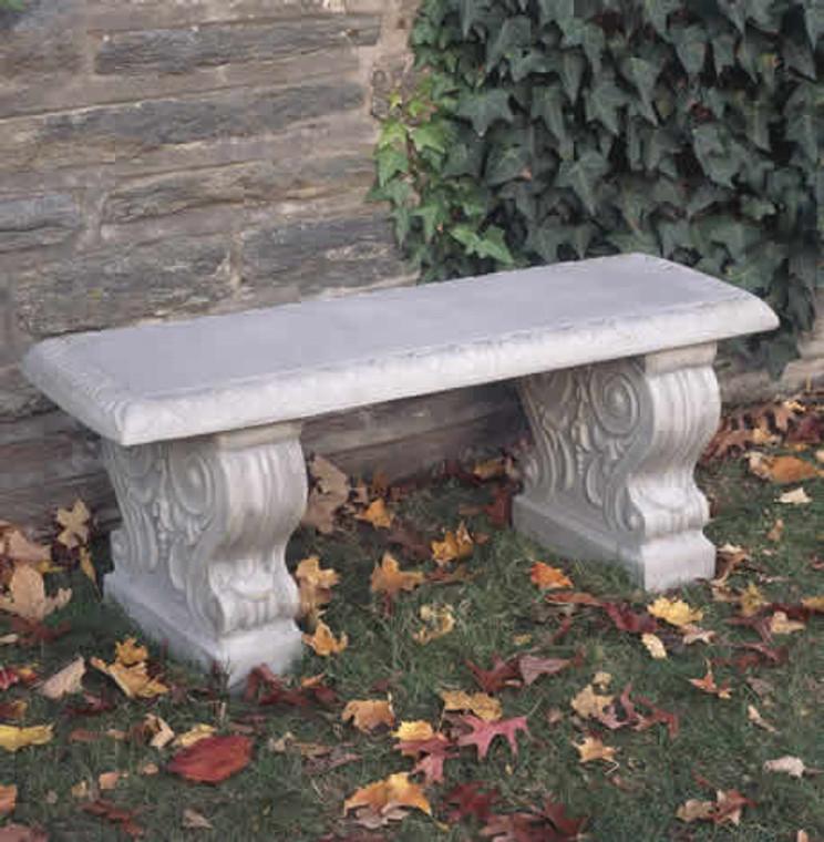 Traditional Straight garden bench