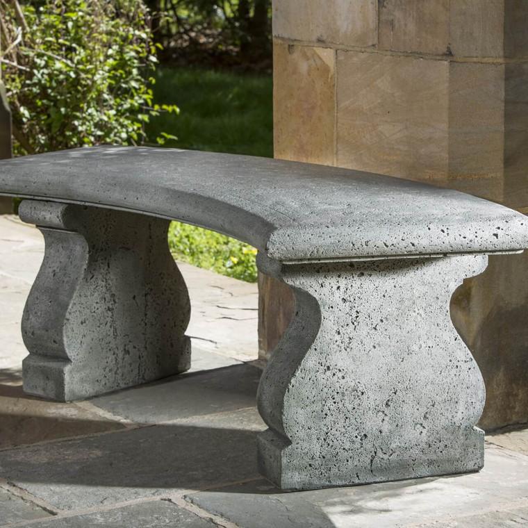 Provencal Curved garden bench