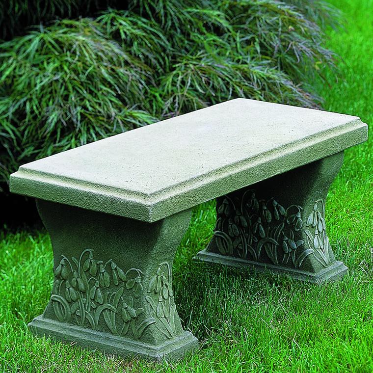 Snowdrop Garden Bench