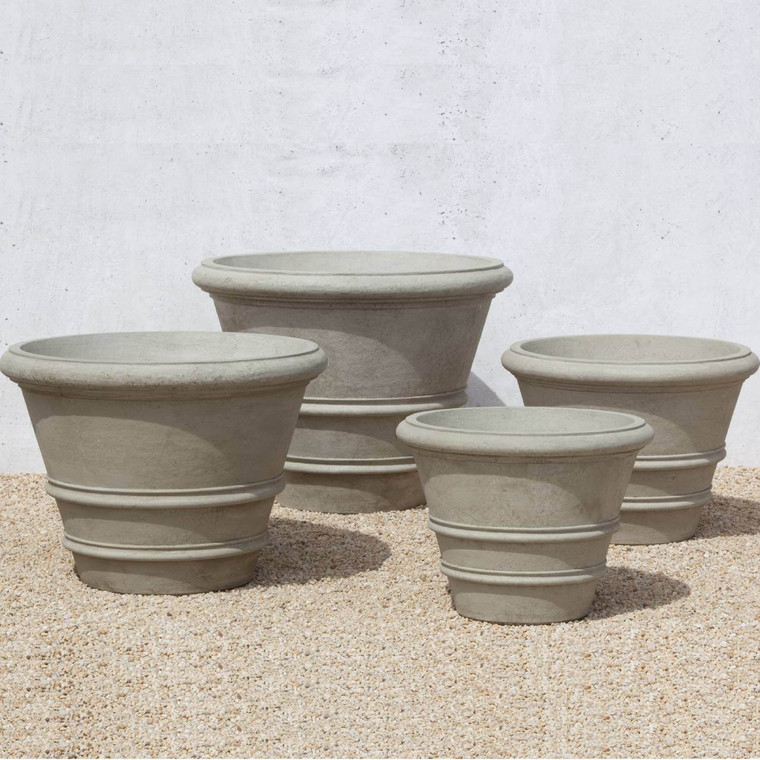 Classic Rolled Rim Pots - extra large