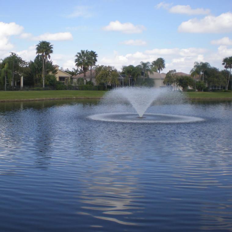 5HP 240V VFX Lake and Pond Aerating Fountain