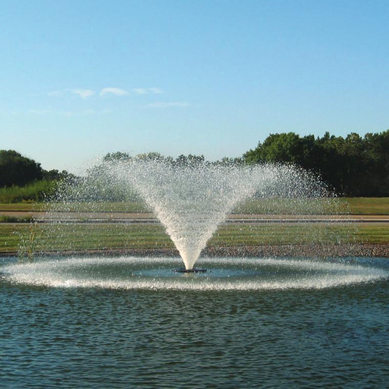 5HP 3 Phase 240V VFX Lake and Pond Aerating Fountain