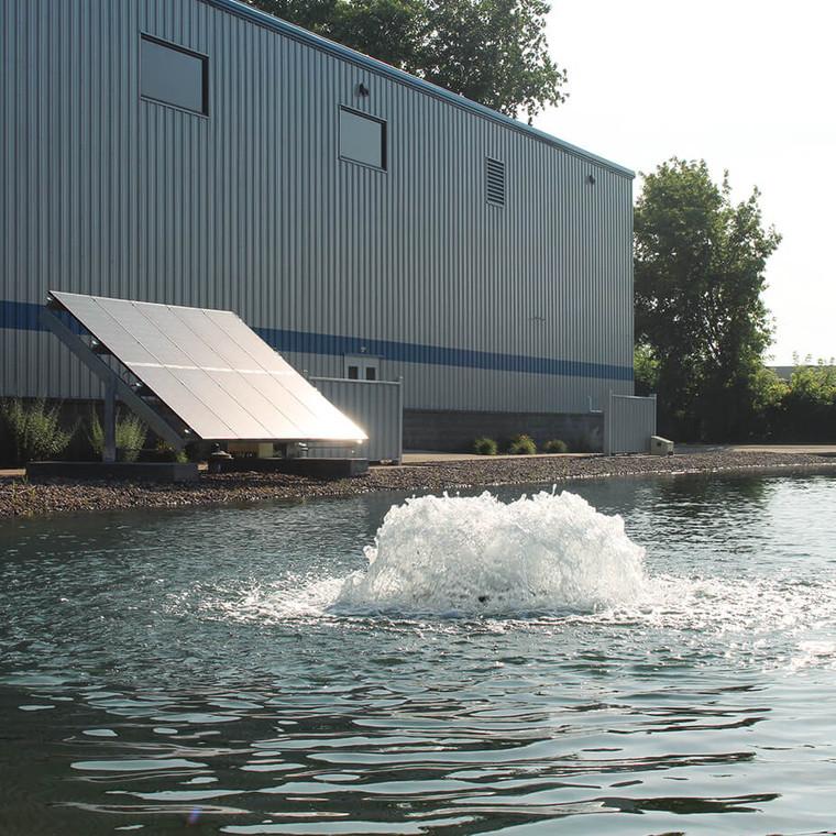 2HP 240V Three Phase Solar Surface Pond Aerator