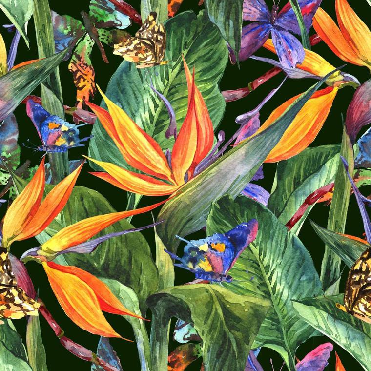 Tropical Foliage Outdoor Wall Art