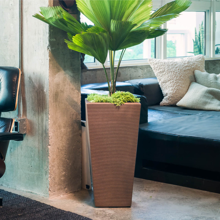 Bowery Planters in Vintage Copper