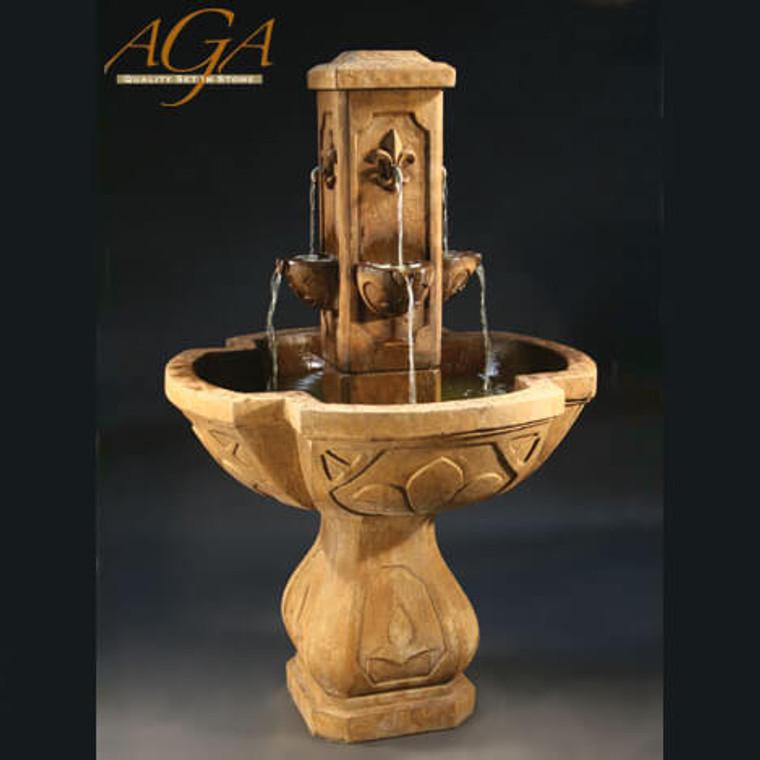 Fleur De Lis Fountain