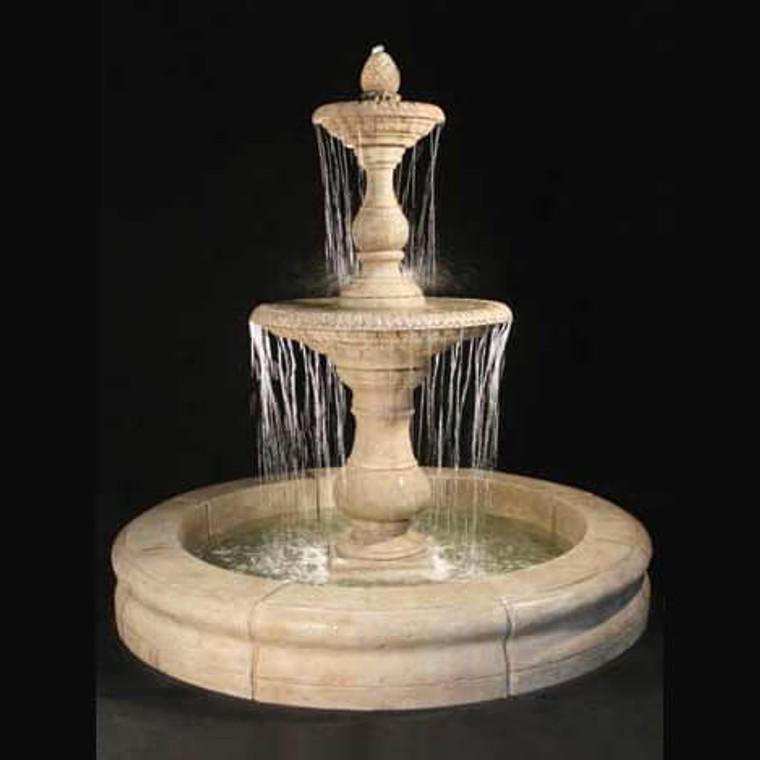 Gran Vista Fountain with Fiore Pond