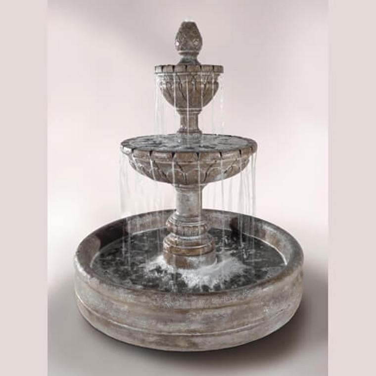 """Geneva Fountain with 46"""" Basin"""