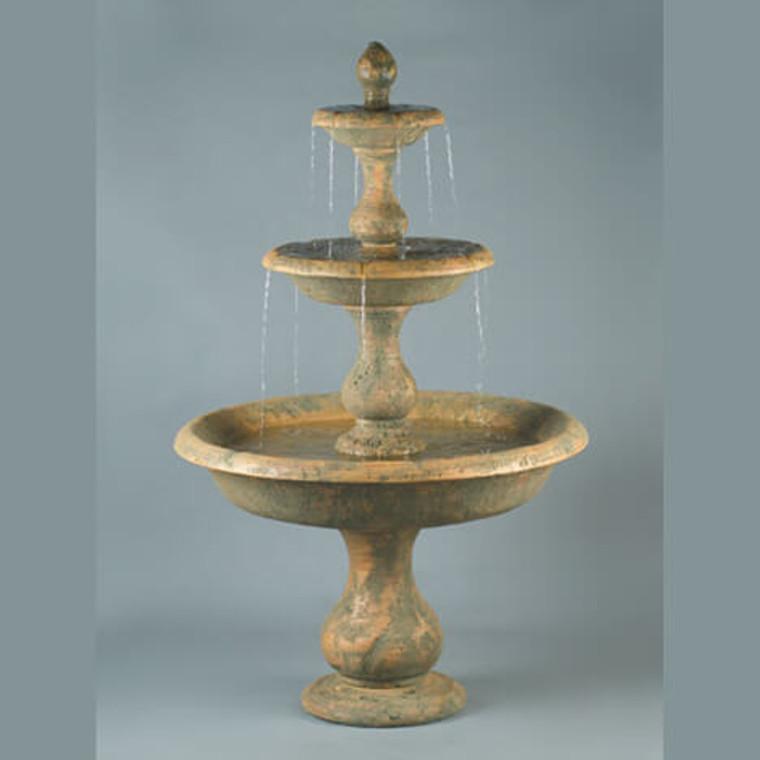 Old Toscano 3-Tier Fountain