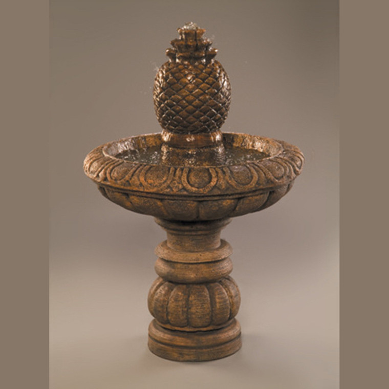 Romantica Fountain Short with Pineapple