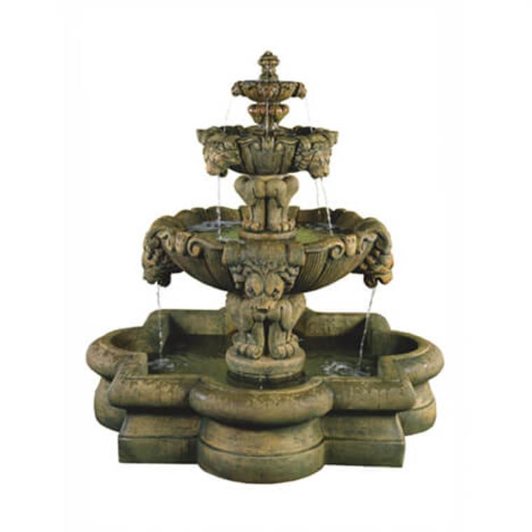 Courtyard Lion Fountain
