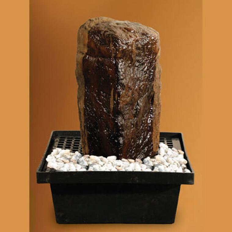Granite Rock Fountain with Reservoir Kit