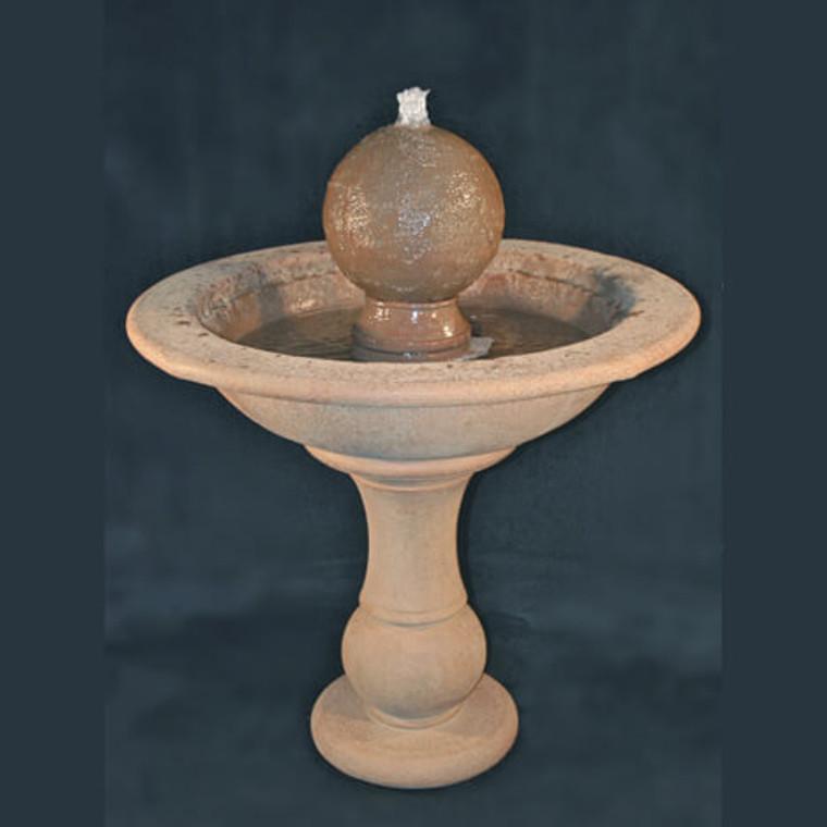 Tall Garden Sphere Fountain