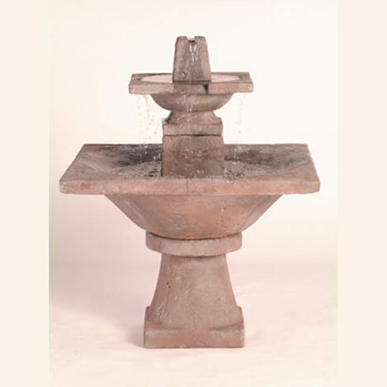 Quadrate Fountain 2-Tier