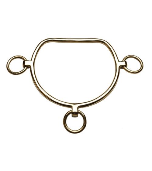 Chifney Bit Large Solid Brass
